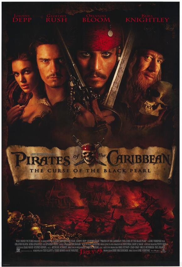 Pirates of the Caribbean:The Curse of the Black Pearl 加勒比海盗之黑珍珠号的诅咒/神鬼奇航