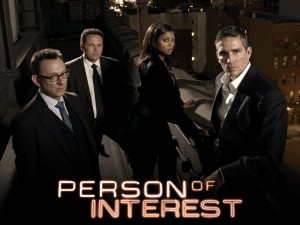 Michael Emerson, Kevin Chapman, Taraji P Henson, Jim Caviezel of the CBS series PERSON OF INTEREST. Photo: Frank W Ockenfels 3 /CBS ©2012 CBS Broadcasting Inc. All Rights Reserved.